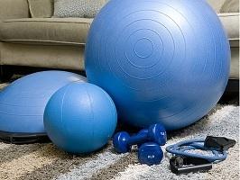 a home gym