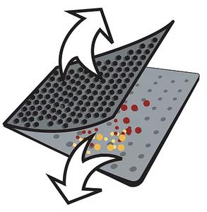 blackhole cat litter mat special design 2