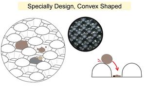 blackhole cat litter mat special design 1