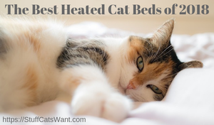 best heated cat beds of 2018 feature image
