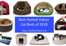 10 heated cat beds and a block of text saying best heated cat beds of 2018