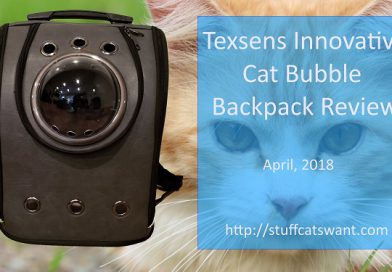 Texsens Cat Backpack Review (Innovative Bubble Version)