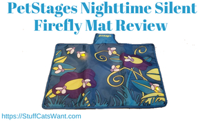 Petstages Nighttime Silent firefly mat