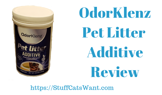 OdorKlenz Pet Litter Additive Review