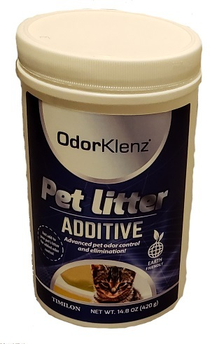 a small image of the odorklenz litter additive