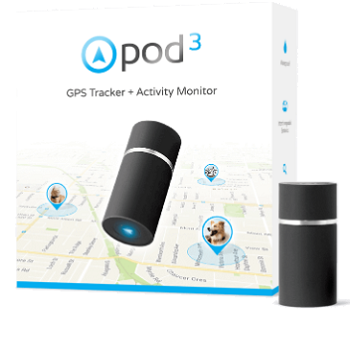 the pod 3 gps tracker for pets