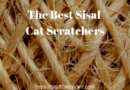 a rope fiber background with text saying the best sisal cat scratchers