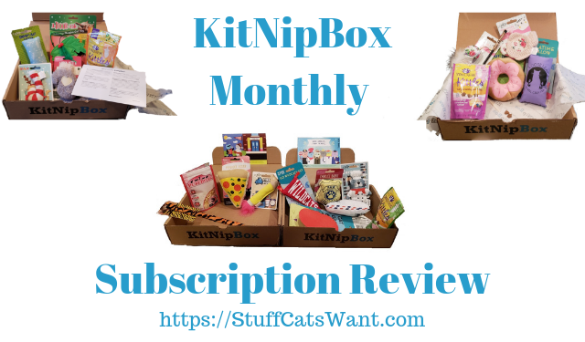 Kitnipbox Review 2019 New Cat Toys Delivered Monthly