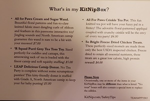 kitnipbox subscription card back side