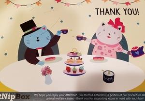 kitnipbox tea party theme card